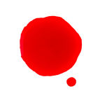 Λεκές αίματος στοκ εικόνες