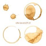Λεκές καφέ Στοκ εικόνες με δικαίωμα ελεύθερης χρήσης