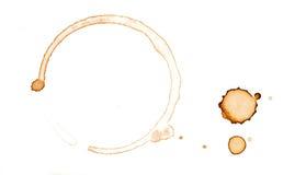 λεκές καφέ στοκ φωτογραφία