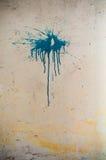 Λεκές χρωμάτων σε έναν τοίχο Στοκ φωτογραφίες με δικαίωμα ελεύθερης χρήσης