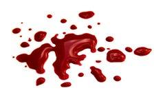 Λεκέδες αίματος Στοκ εικόνες με δικαίωμα ελεύθερης χρήσης