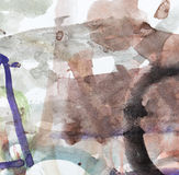 Λεκέδες μελανιού στη Λευκή Βίβλο Στοκ εικόνες με δικαίωμα ελεύθερης χρήσης
