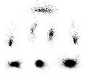 Λεκέδες μελανιού διανυσματική απεικόνιση