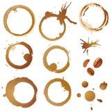 λεκέδες σιταριών καφέ Στοκ Εικόνες