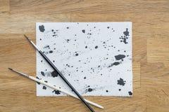 Λεκέδες του μελανιού Στοκ εικόνες με δικαίωμα ελεύθερης χρήσης