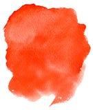 Λεκέδες Watercolor Στοκ φωτογραφία με δικαίωμα ελεύθερης χρήσης