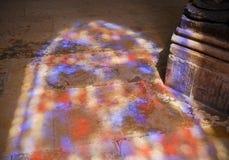 Λεκιασμένη σκιά παραθύρων γυαλιού Στοκ Εικόνα