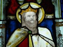 λεκιασμένο γυαλί παράθυρο εκκλησιών στοκ εικόνα