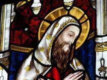 λεκιασμένο γυαλί παράθυρο εκκλησιών Στοκ φωτογραφία με δικαίωμα ελεύθερης χρήσης