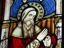 λεκιασμένο γυαλί παράθυρο εκκλησιών στοκ φωτογραφία