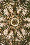 λεκιασμένο γυαλί παράθυρο Στοκ Εικόνες