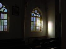 λεκιασμένο γυαλί παράθυ& Στοκ Εικόνα