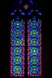 Λεκιασμένο γυαλί στην εκκλησία του Άγιου Βασίλη της Βαλένθια Στοκ εικόνα με δικαίωμα ελεύθερης χρήσης