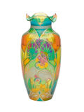 λεκιασμένο γυαλί vase Στοκ φωτογραφία με δικαίωμα ελεύθερης χρήσης