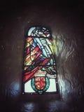 Λεκιασμένο γυαλί στο σκωτσέζικο κάστρο, Σκωτία Στοκ Φωτογραφίες