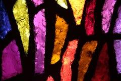 Λεκιασμένο γυαλί της εκκλησίας annunciation Στοκ Φωτογραφίες