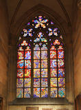 Λεκιασμένο καθεδρικός ναός γυαλί του ST Vitus Στοκ φωτογραφίες με δικαίωμα ελεύθερης χρήσης