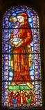 Λεκιασμένο ο Antony γυαλί Αγίου ο καθεδρικός ναός Λισσαβώνα Πορτογαλία SE Στοκ Φωτογραφίες