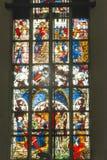 Λεκιασμένο παράθυρο γυαλιού, Μόναχο Στοκ Εικόνα
