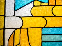 Λεκιασμένο χρώμα γυαλιού Στοκ εικόνα με δικαίωμα ελεύθερης χρήσης