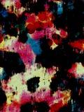 Λεκιασμένο Splatter Grunge που αφαιρεί το χρώμα Στοκ φωτογραφία με δικαίωμα ελεύθερης χρήσης