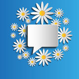Λεκτική φυσαλίδα Στοκ φωτογραφίες με δικαίωμα ελεύθερης χρήσης