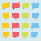 Λεκτική φυσαλίδα Origami Στοκ φωτογραφίες με δικαίωμα ελεύθερης χρήσης
