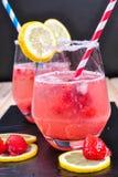 Λεμονάδα φραουλών Στοκ Εικόνα