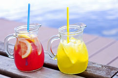 Λεμονάδα φρούτων Στοκ φωτογραφία με δικαίωμα ελεύθερης χρήσης