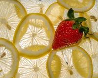 Λεμόνια φραουλών Στοκ Εικόνες