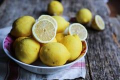 Λεμόνια Primofiore Στοκ Εικόνες