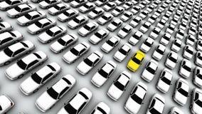 λεμόνι αυτοκινήτων μου διανυσματική απεικόνιση