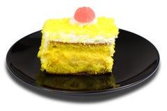 λεμόνι κέικ Στοκ φωτογραφίες με δικαίωμα ελεύθερης χρήσης