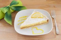 λεμόνι κέικ Στοκ εικόνες με δικαίωμα ελεύθερης χρήσης