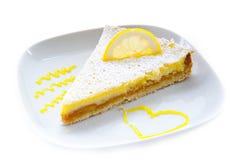 λεμόνι κέικ Στοκ φωτογραφία με δικαίωμα ελεύθερης χρήσης