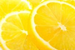 λεμόνι - κίτρινο Στοκ Εικόνες
