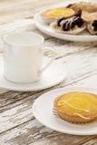 λεμόνι καφέ ξινό Στοκ Φωτογραφίες