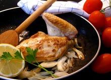 λεμόνι κοτόπουλου Στοκ Εικόνα
