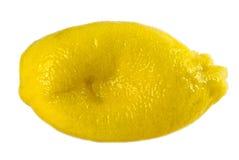 λεμόνι που συμπιέζεται Στοκ εικόνες με δικαίωμα ελεύθερης χρήσης