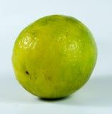 Λεμόνι στο κίτρινο χρώμα Στοκ Φωτογραφίες