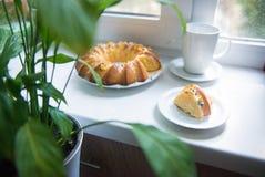 Λεμόνι cupcake Στοκ φωτογραφία με δικαίωμα ελεύθερης χρήσης