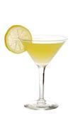 λεμόνι martini Στοκ Φωτογραφία