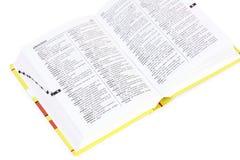 λεξικό ισπανικά Στοκ εικόνες με δικαίωμα ελεύθερης χρήσης