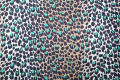 Λεοπάρδαλη κλωστοϋφαντουργικών προϊόντων Στοκ Εικόνες