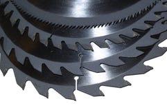 Λεπίδες κυκλικών πριονιών Στοκ φωτογραφία με δικαίωμα ελεύθερης χρήσης