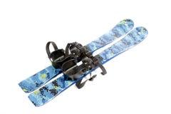 Λεπίδες σκι Στοκ φωτογραφία με δικαίωμα ελεύθερης χρήσης