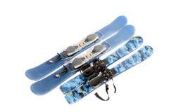 Λεπίδες σκι Στοκ φωτογραφίες με δικαίωμα ελεύθερης χρήσης