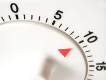 λεπτά δέκα χρονόμετρο Στοκ εικόνες με δικαίωμα ελεύθερης χρήσης