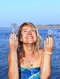 λεπτά ευτυχίας Στοκ φωτογραφία με δικαίωμα ελεύθερης χρήσης