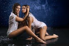 λεπτά κορίτσια Στοκ εικόνες με δικαίωμα ελεύθερης χρήσης